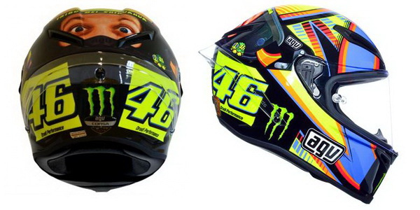 Replika helm AGV Corsa Winter Test Limited Edition