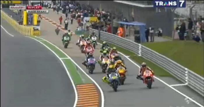so many riders start from the pitlane... enjoy the race