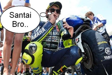 Valentino Rossi siap