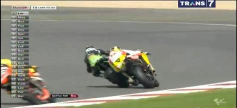 Battle antara Bradl vs Iannone