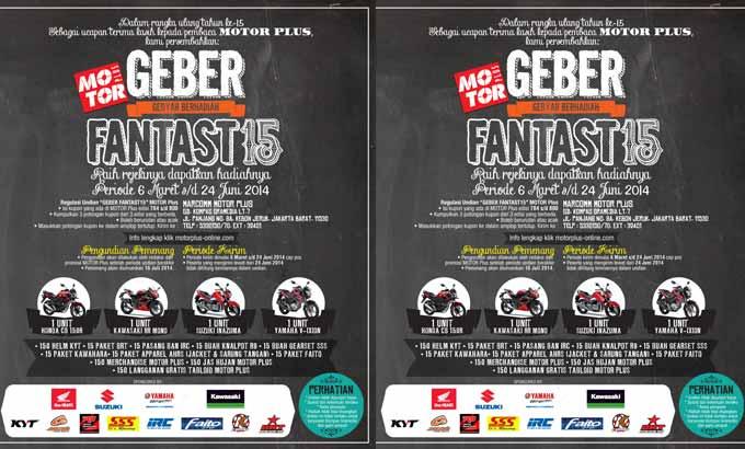 Info Nama Pemenang Kuis Geber Fantast15 MotorPlus 2014