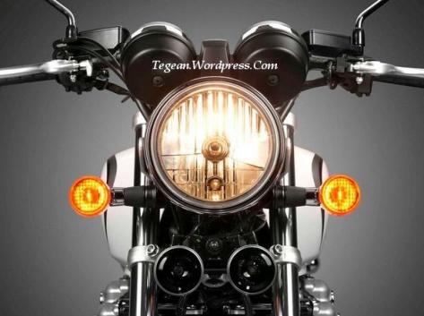 lampu standar motor