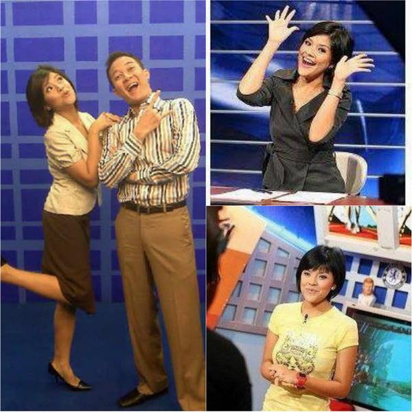 Lucy wiryono, host program Sport7