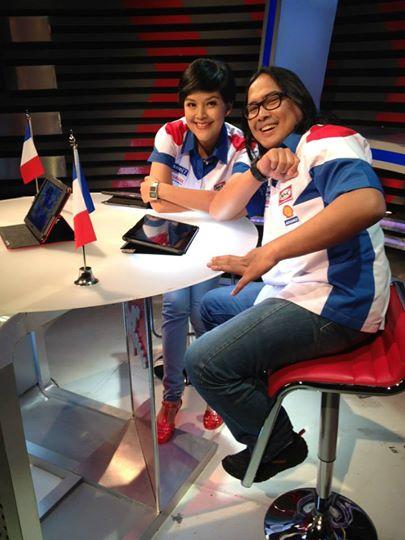Lucy Wiryono with Joni Lono