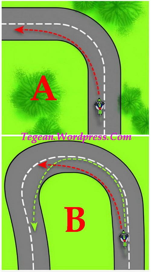 Tips cornering dijalur yang Rawan Kecelakaan