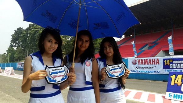umbrella girl yamaha