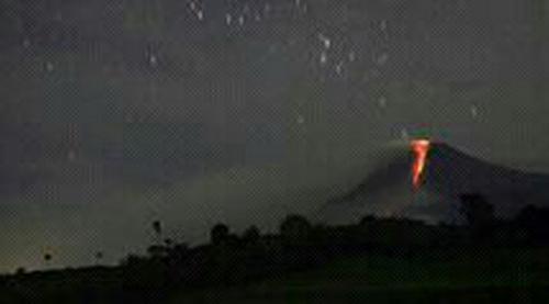 aktivitas Gunung Slamet