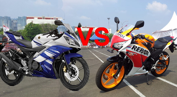 Honda CBR150R Vs Yamaha R15