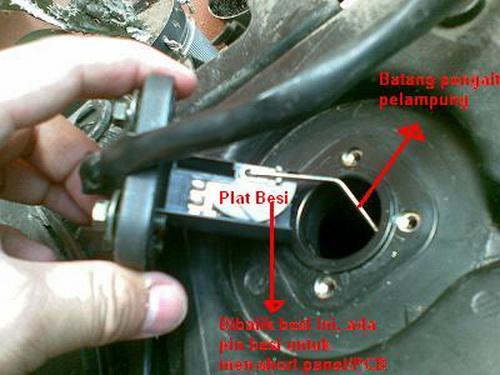 Pelampung Bensin motor