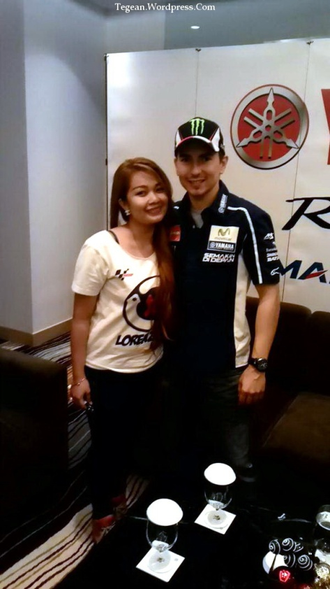 Jorge Lorenzo and Fans