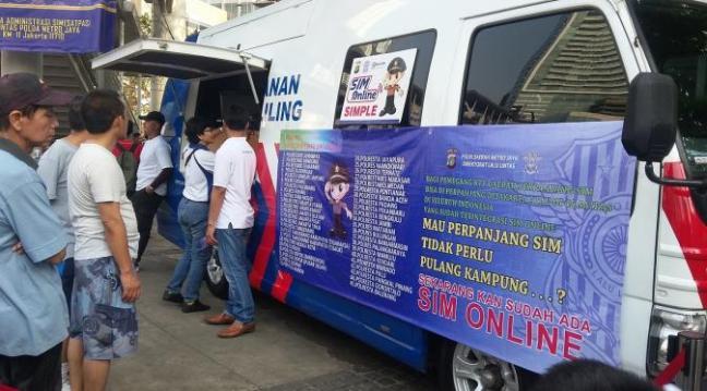 cara perpanjang dan biaya SIM online