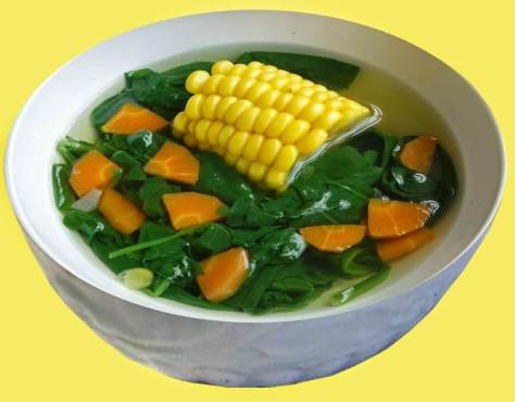Sayur Bening, Sayur Tegean, Resep Masak Tegean