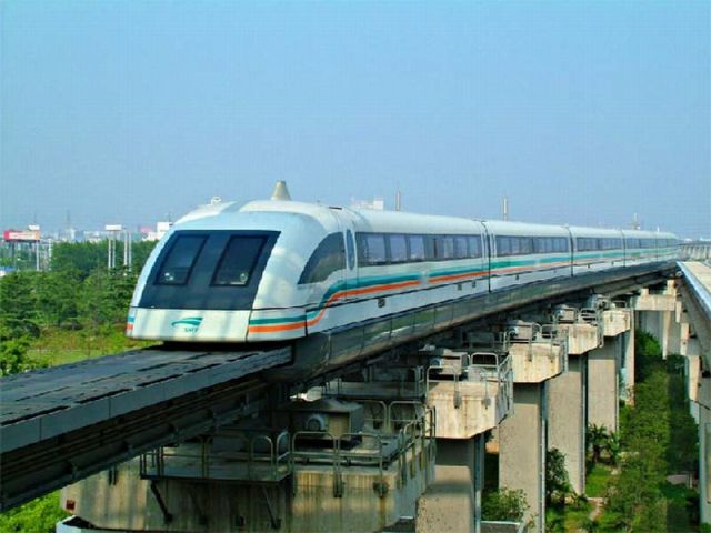 Kereta api Shanghai Maglev Line