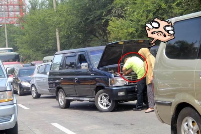 Tips Mengatasi Mobil Mogok di Tengah Jalan