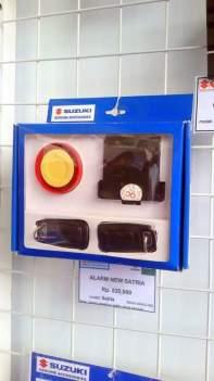 harga alarm suzuki satria fu 150 fi