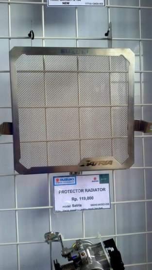 harga pelindung radiator suzuki satria fu 150 fi