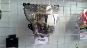 harga reflektor lampu depan suzuki satria fu 150 fi