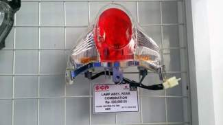 harga satu set lampu belakang suzuki satria fu 150 fi