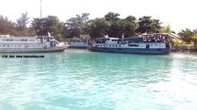 pelabuhan utama pulau tidung