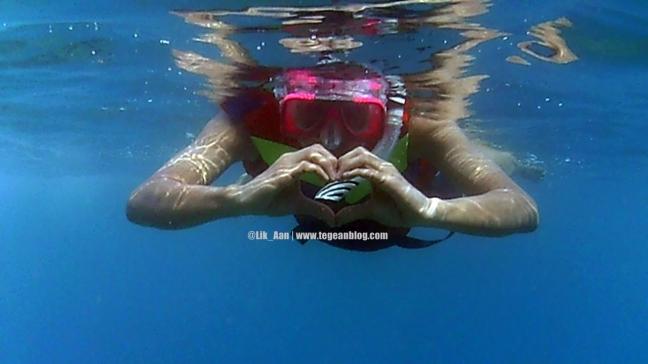 snorkling di pulau tidung kecil