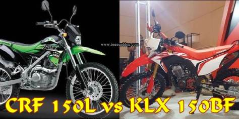 CRF 150L vs KLX 150BF