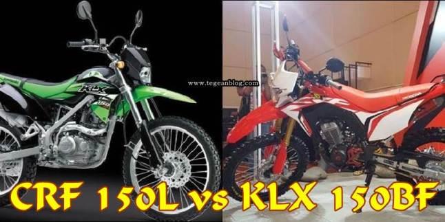CRF 150L vs KLX 150BF