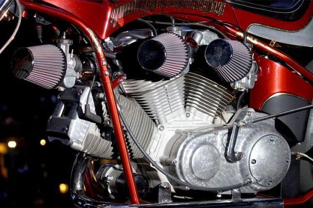 W engine garapan M Yusuf Adib dari Psycho Engine Purwokerto