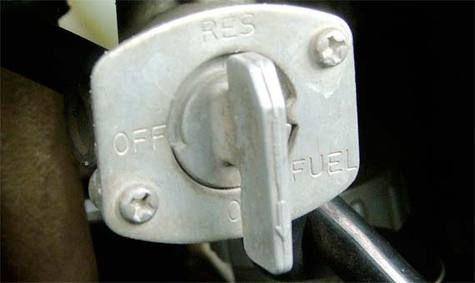 keran bensin motor