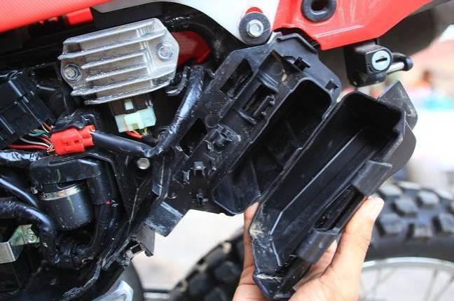 ToolBox Honda CRF150L