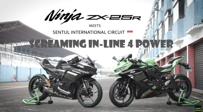 LAUNCING ZX 250 R SENTUL INDONESIA